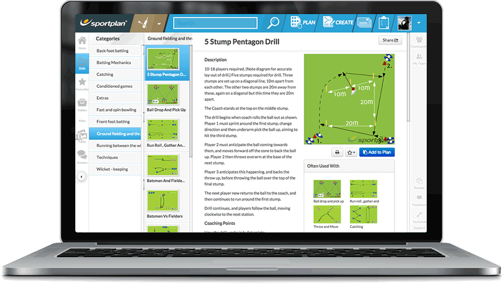 Cricket Coaching Drills Library