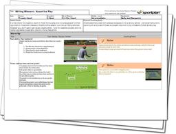 Tennis Lesson Plan: Take control - Hitting Winners, Assertive Play!