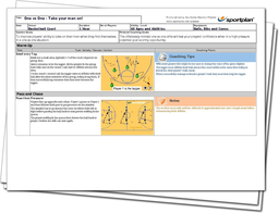 Basketball Lesson Plan: Fast Break Passing and One v One Confidence Sessions