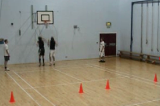 Defensive Conditioning - Jump, touch, turn and sprint Drill Thumbnail