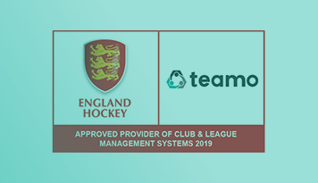 England Hockey announce Teamo as an Approved Provider of Club & League Management Systems