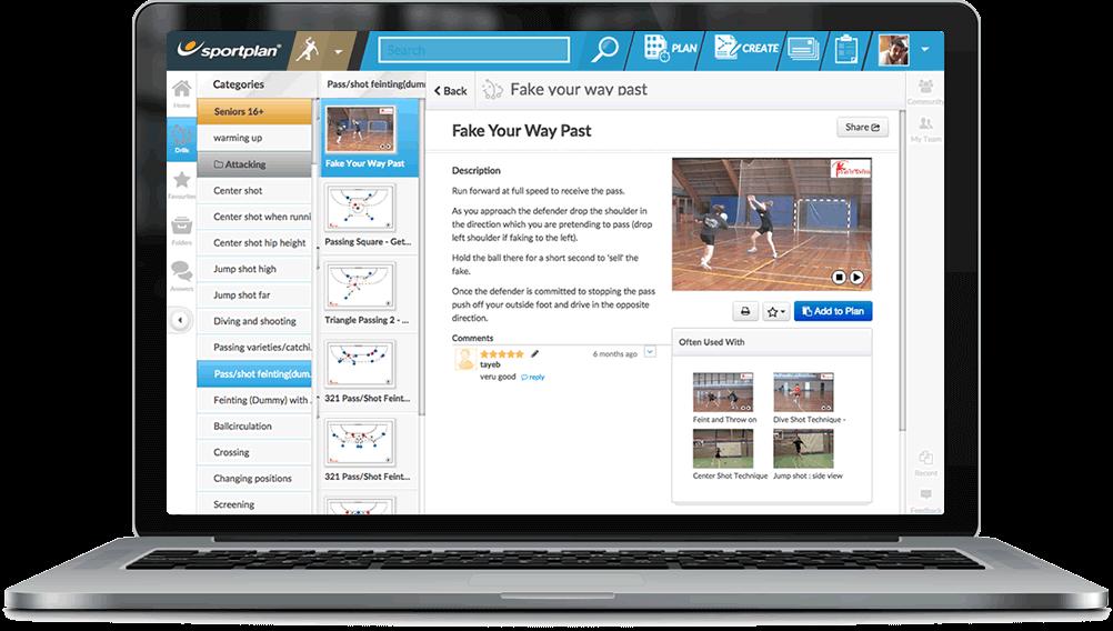 Handball Coaching Drills Library