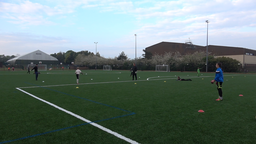 : Back Pass in Grids - Goalkeeping