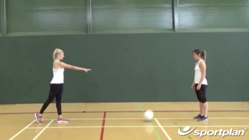 shoulder pass Netball Drills, Videos and Coaching | Sportplan