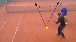 1 in 1 out   Backhand Drills