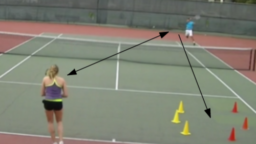 Attack and finish | Forehand Backhand Drill