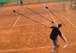 Use court geometry | Forehand Drills