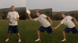 Forehand Throw with Pivot | Throwing Skills