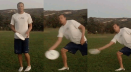 Forehand Fake with Pivot | Throwing Skills
