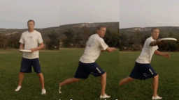 Backhand Fake with Pivot | Throwing Skills