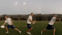 Forehand Fake to Backhand Throw | Throwing Skills