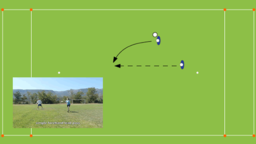 Simple Forehand Lead Pass | Offence