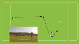 Break Mark (Forehand Fake to Backhand Throw) 1 | Offence