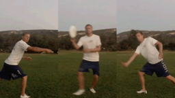 Backhand Fake to Forehand Throw | Throwing Skills