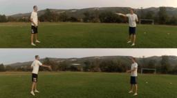 Pass Backhand Pairs | Throwing Skills