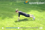Press upCore StrengthAgility Drills Coaching