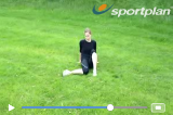Glut / hip stretch Drill Thumbnail