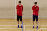 Front and back- Foot SpeedPlyometricsAgility Drills Coaching