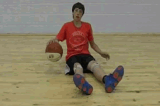 Seated DribbleBasic Ball HandlingBasketball Drills Coaching