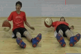 Seated Dribble Drill Thumbnail