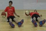 Seated DribbleBasic Ball HandlingBasketball Drills Coaching