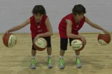 2 balls Side-to-SideAdvanced Ball HandlingBasketball Drills Coaching