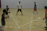 Square Passing drillPassingBasketball Drills Coaching