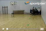 Beat the chair - Reverse angleDribblingBasketball Drills Coaching