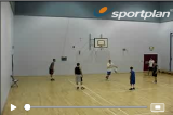 1 on 1 continuous - rear viewDribbling RelayBasketball Drills Coaching
