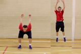 1/4 Squat- Vertical Jump Drill Thumbnail