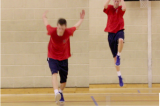 Bounding for HeightFitnessBasketball Drills Coaching