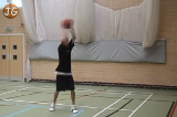 Two handed overhead passPassing TechniqueBasketball Drills Coaching