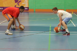 2 Balls - Reaction CompetitionWarmupBasketball Drills Coaching