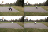 Defensive glide zig-zagDefenseBasketball Drills Coaching