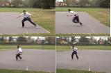 Defensive glide and run zig-zag Drill Thumbnail