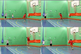 Drop Step Baseline Progression 1Footwork and MovementBasketball Drills Coaching