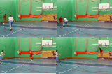 Screen and Back Cut2 v 1Basketball Drills Coaching