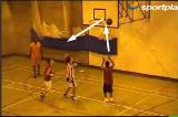 3 Man Backboard ReboundReboundBasketball Drills Coaching