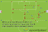 Hit, Miss, Run and Recover!Conditioned gamesSoccer Drills Coaching