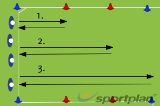Suicides - Speed EnduranceAgilityFootball Drills Coaching