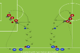 Throw in - Receive and ReturnPassing and ReceivingFootball Drills Coaching