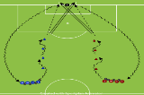 Dribble, drive and strikeextrasFootball Drills Coaching