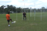 Catching SlalomGoalkeepingFootball Drills Coaching