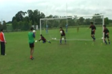 Jump and Catch - Two Shot StopperGoalkeepingFootball Drills Coaching