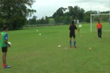 Turn, React and CatchGoalkeepingSoccer Drills Coaching