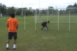 In and Out Catch SlalomGoalkeepingSoccer Drills Coaching