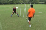In and Out Catch Slalom Drill Thumbnail