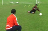 Dive development - Roll and CatchGoalkeepingSoccer Drills Coaching