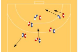 10 Pass Gamesmall match playingHandball Drills Coaching