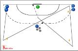 Zig-Zag run and Shoot!558 speedHandball Drills Coaching